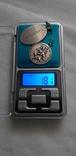 Серебряные медальоны 800 пробы, фото №2