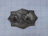 Таблица. серебро, выямчатая эмаль., фото №6