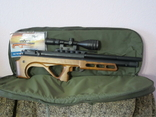 Пневматическая винтовка Эдган Матадор стандарт. Буллпап.Кал. 6.35, фото №2