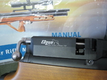Пневматическая винтовка Эдган Матадор стандарт. Буллпап.Кал. 6.35, фото №4