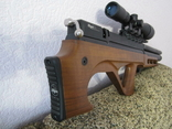 Пневматическая винтовка Эдган Матадор стандарт. Буллпап.Кал. 6.35, фото №12