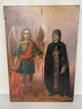 Икона Михаил и Святая, фото №2