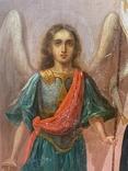 Икона Михаил и Святая, фото №4
