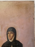 Икона Михаил и Святая, фото №6
