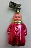 Елочная игрушка Малыш СССР в зимнем  1950-ые г., фото №2