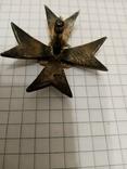 """Копия """"Знак 111-го пехотного Донского полка"""" серебро, фото №7"""