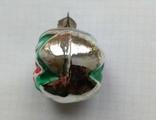 Елочная игрушка Шар со звездой 1960г., фото №5