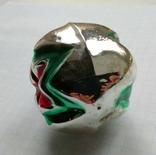 Елочная игрушка Шар со звездой 1960г., фото №7