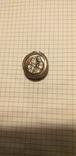 Серебряный медальон с религиозным изображением, фото №3