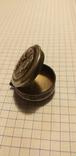 Серебряный медальон с религиозным изображением, фото №5