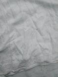 Сорочка білим по білому з вирізуванням,Миргородська вишиванка конопляна полотняна, фото №3