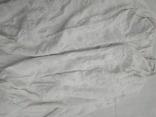 Сорочка білим по білому з вирізуванням,Миргородська вишиванка конопляна полотняна, фото №6
