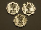 3 монеты по 2 пайсы, Индия, фото №3