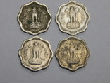 4 монеты по 2 пайсы, Индия, фото №3
