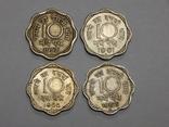 4 монеты по 10 пайса, Индия, фото №2