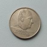 Норвегия 10 крон 1996 г. Харальд V, фото №3