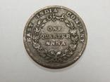 1/4 анна, 1835 г Британская Индия, фото №2