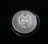 Остров Мэн 15 ECU, 1994 - Кот с Острова Мэн - серебро, фото №2