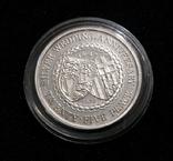 Остров Мэн, 25 пенсов, 1972 - 25 летие Королевской свадьбы - серебро, фото №2