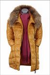Куртка пуховик Mark Pivots. Зиме вдогонку, весне навстречу. Натуральный пух и мех., фото №2