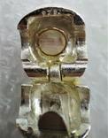 Бусины на Кожанном Шнурке Серебро 925 Кварц, фото №7