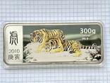 Серебряная монета 100 долларов Либерия, фото №2