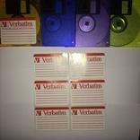 Floppy Verbatim Новые флоппи дискеты + бонус + наклейки оригинал, фото №2