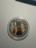 Австралия 1 доллар 2011 Королевская Свадьба, фото №3