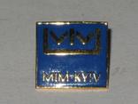 Значек MIM Kyiv МММ Киев