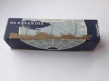 Модель теплохода m/s SELANDIA клеймо B&W Burmeister& Wain, фото №2
