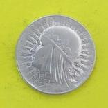 5 Злотих 1933р. Срібло., фото №2