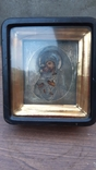 Икона Богородица Владимирская оклад серебро 84, фото №2
