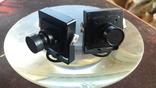 """Камера (2 шт.) видеонаблюдения для помещения 1/3"""" SONY CCD 420TVL Mini Security CCTV, фото №2"""