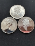 Канадский доллар (3шт.), фото №2