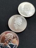 Канадский доллар (3шт.), фото №4