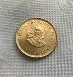 2 ранда 1966 год ЮАР золото 7,99 грамм 917', фото №3