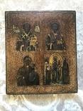 Икона Четырехчастник, 31х35,5 см, фото №2