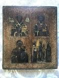 Икона Четырехчастник, 31х35,5 см, фото №3