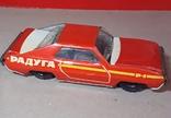 Инерционная гоночная машинка РАДУГА-РАЛЛИ из СССР, фото №2
