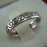 Серебряное Кольцо Размер 17.25 Бесконечность Узор Серебро 875 проба 814