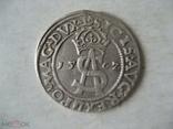 3 гроша 1562 г Литва Сигизмунд II Август, фото №2