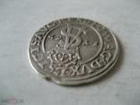 3 гроша 1562 г Литва Сигизмунд II Август, фото №4