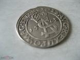 3 гроша 1562 г Литва Сигизмунд II Август, фото №5