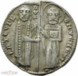 Венеция 1 гроссо 1229 - 1249 гг Дож Якопо Тьеполо, фото №2