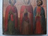 Икона Анастасия , Андрей и Евгений, фото №5