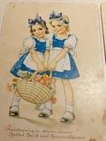 """Три германских открытки """"Дети"""", фото №5"""