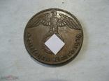 Германия Третий Рейх 1 пфенниг 1938 J, фото №4