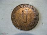 Германия Третий Рейх 1 пфенниг 1940 J, фото №2