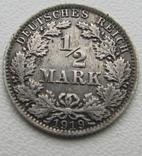 1/2 марки 1919 года (А), фото №2
