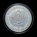 1 Доллар 1987 200 Років Конституції / 200 Лет Конституции, США Proof, фото №3